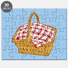 Picnic Basket Graphic Puzzle