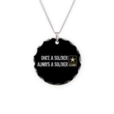 Once a Soldier Always a Soldier Necklace