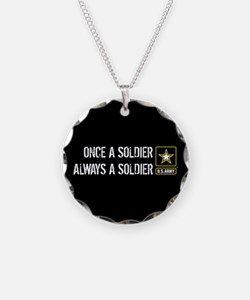 U.S. Army: Once a Soldier Al Necklace