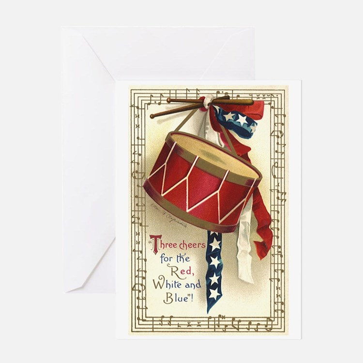 Vintage 4th of July Greeting Cards
