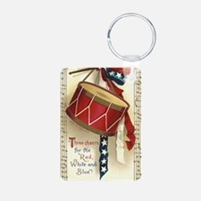 Vintage 4th of July Keychains