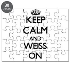 Keep Calm and Weiss ON Puzzle