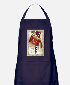Vintage 4th of July Apron (dark)