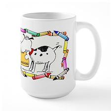 Dog Ate My Homework Mug