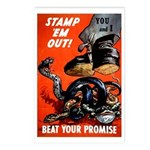 Stamp Out Snakes Postcards (Package of 8)