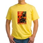 Stamp Out Snakes (Front) Yellow T-Shirt