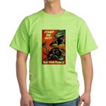 Stamp Out Snakes Green T-Shirt
