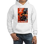 Stamp Out Snakes (Front) Hooded Sweatshirt