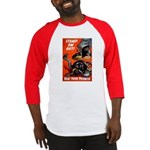 Stamp Out Snakes Baseball Jersey