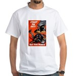 Stamp Out Snakes White T-Shirt