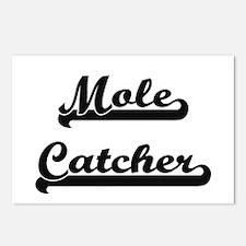 Mole Catcher Artistic Job Postcards (Package of 8)