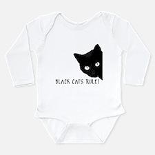 Cute Cats Long Sleeve Infant Bodysuit