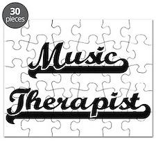 Music Therapist Artistic Job Design Puzzle