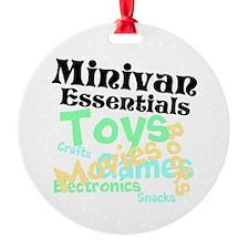 Minivan Essentials Ornament