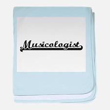 Musicologist Artistic Job Design baby blanket