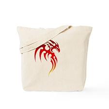 Rising Phoenix Tribal Symbol Tote Bag