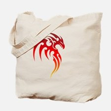 Rising Phoenix Tribal Symbol Tote Bag