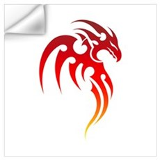 Rising Phoenix Tribal Symbol Wall Decal