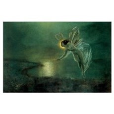 Vintage Fairy by Grimshaw Poster
