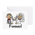 Love Toast Greeting Cards (Pk of 10)