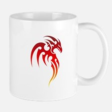 Rising Phoenix Tribal Symbol Mugs