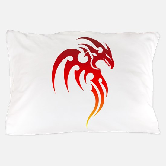 Rising Phoenix Tribal Symbol Pillow Case