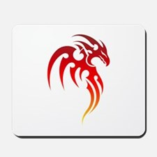 Rising Phoenix Tribal Symbol Mousepad