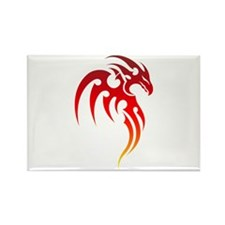 Rising Phoenix Tribal Symbol Magnets