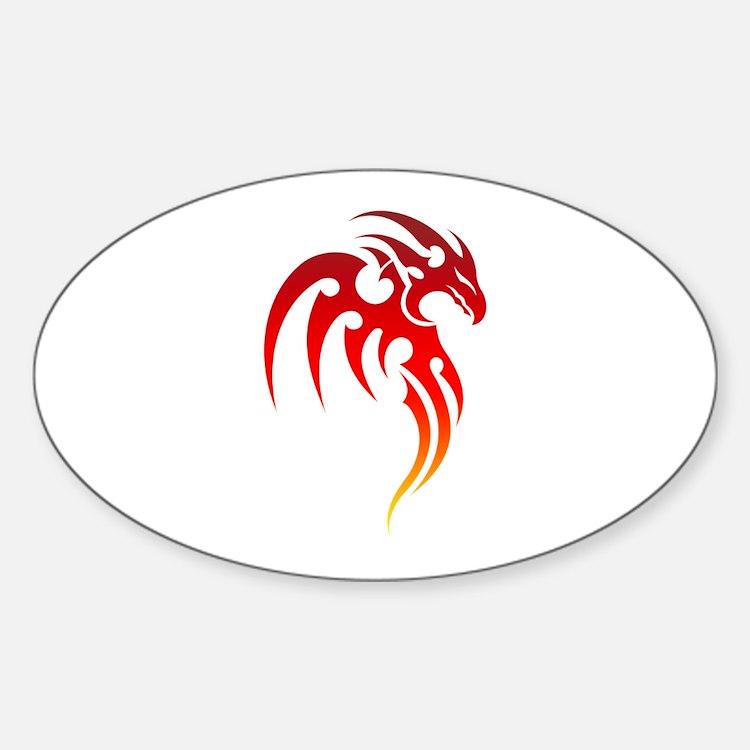 Rising Phoenix Tribal Symbol Decal