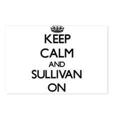 Keep Calm and Sullivan ON Postcards (Package of 8)