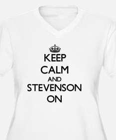 Keep Calm and Stevenson ON Plus Size T-Shirt