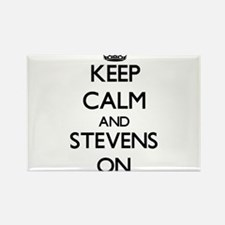 Keep Calm and Stevens ON Magnets