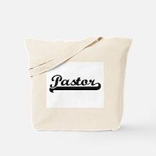 Pastor Artistic Job Design Tote Bag