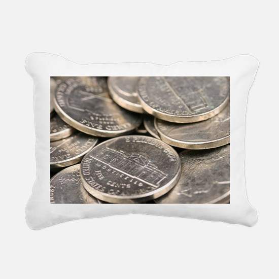 Cute Stacked Rectangular Canvas Pillow