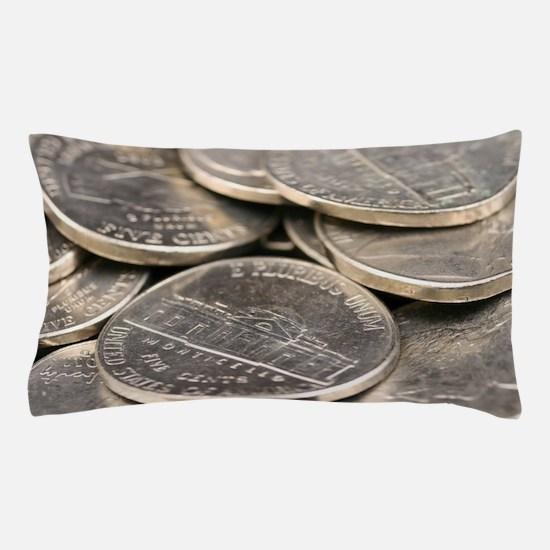 Cute Coins Pillow Case