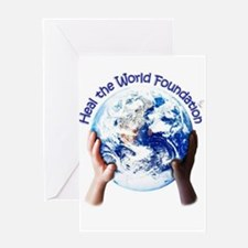 HEAL THE WORLD FOUNDATION Greeting Cards