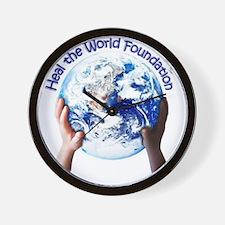 HEAL THE WORLD FOUNDATION Wall Clock