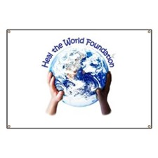 HEAL THE WORLD FOUNDATION Banner