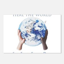 HEAL THE WORLD Postcards (Package of 8)