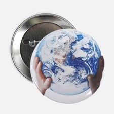 """HEAL THE WORLD 2.25"""" Button (100 pack)"""
