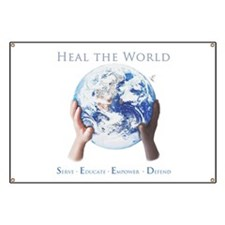 HEAL THE WORLD Banner