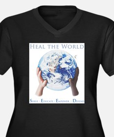 HEAL THE WORLD Plus Size T-Shirt