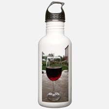 Cute Keep calm drink wine wine Water Bottle