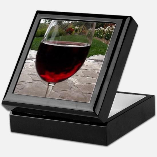 Unique Alcohol Keepsake Box