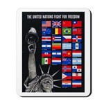United Nations Freedom Mousepad