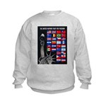 United Nations Freedom (Front) Kids Sweatshirt