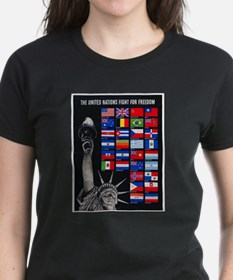 United Nations Freedom (Front) Tee