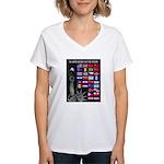 United Nations Freedom Women's V-Neck T-Shirt