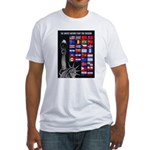United Nations Freedom (Front) Fitted T-Shirt