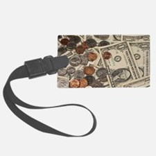 Unique Coin Luggage Tag